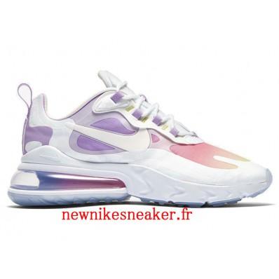 chaussure nike violet et rose