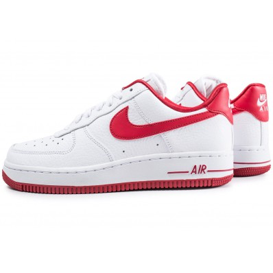 chaussures nike air force rouge