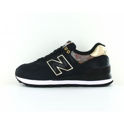 new balance femmes 574 noir cuir