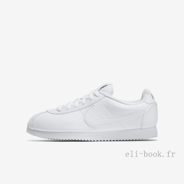 chaussures fille nike blanche